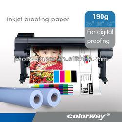Pre-Press Proofing Inkjet Paper, Wide format Inkjet Proofing Paper