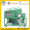 Hidráulica máquina de procesamiento de aceite, Fosfato Ester de resistencia al fuego purificador de aceite de la unidad, Multi función de vacío purificador de aceite