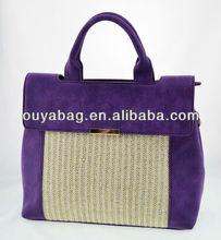Newest arrival: suede PU ladies fashion handbag