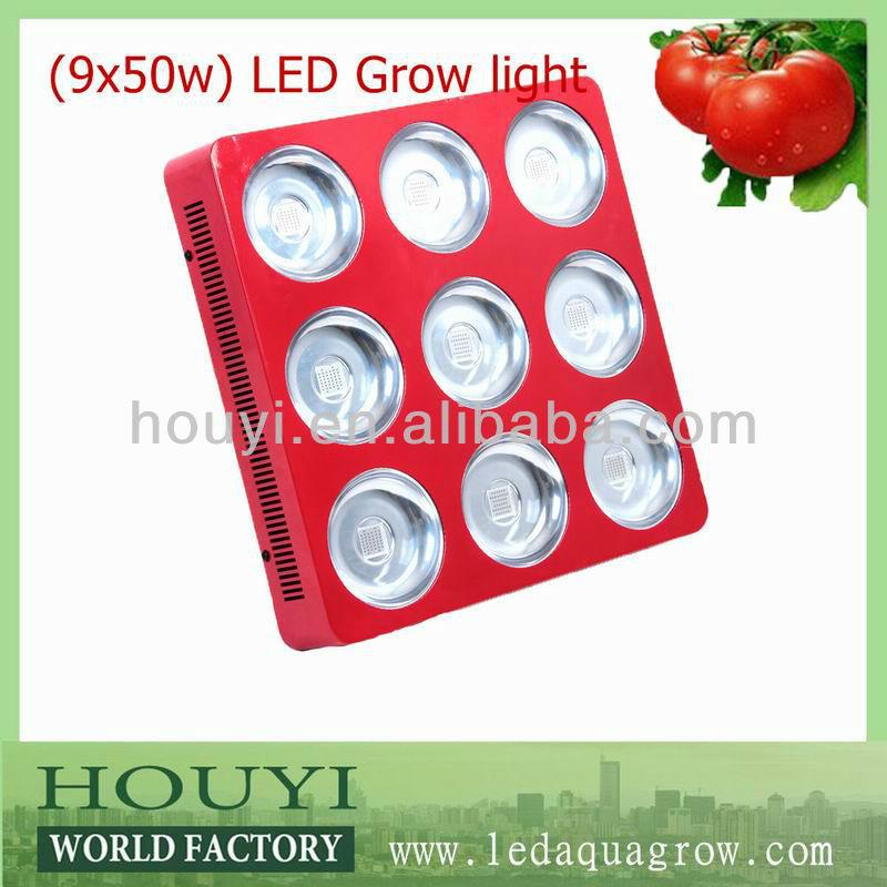 Factory promotion 2013 full spectrum 450w led panel grow light,grow light led for medical plant.