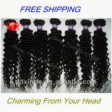 2013 Hot Selling Peruvian Deep Curly Wavy Hair