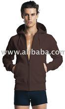 N51z Men's Zip-Through Hooded Sweatshirt