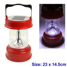 4 LED Extra Bright Portable Solar Camping Light (4 x 0.5W)