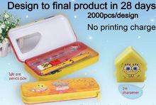 OEM design stationery set pencil box pencil case