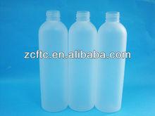 250ml frosted PET bottle, Cosmetic bottle for shampoo,Lotion pump bottle 250ml