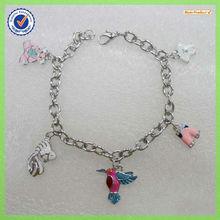 New design enamel animal charm bracelets 31343