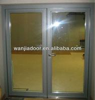 double leaf flush door/aluminum doors design