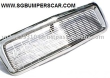 NEW STAINLESS STEEL RADIATOR GRILLS FOR CLASSIC CAR.
