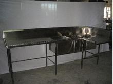 Dishwashing Table with Sink