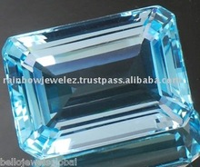 52. 10 Cts. FLAWLESS SWISS BLUE TOPAZ GEMSTONE! ! ExOtiC