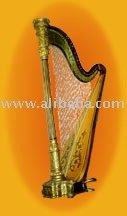 Instrumentos musicales, Arpas