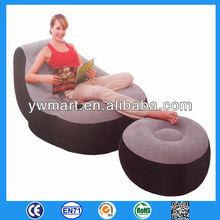 PVC air sofa kids inflatable arm chair durable inflatable sofa