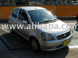 Toyota Vitz (Yaris) Clavia 2001 car