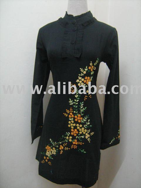 Blouse Sulam Benang-Islamic Clothing