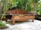 Bali antique day bed