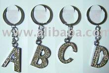 key chain, letter key chain