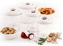 Bio Fresh Vacuum Storage System-round