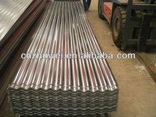 Full Hard Corrugated metal sheet roof tile