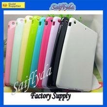 Color Soft TPU skin case for iPad Mini