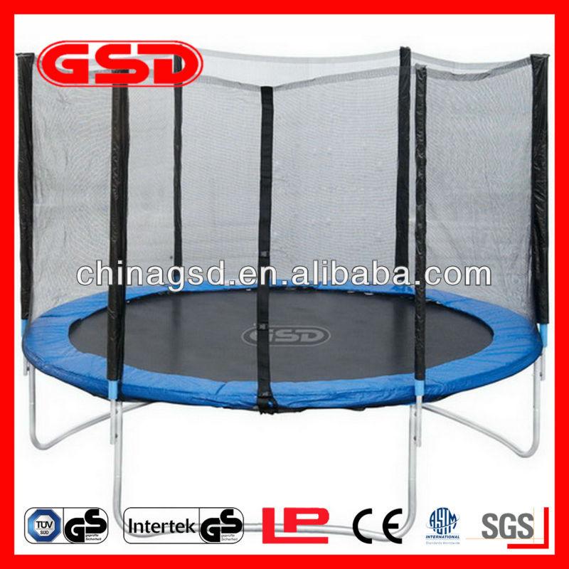 trampoline enclosure combo for outdoor playground. Black Bedroom Furniture Sets. Home Design Ideas