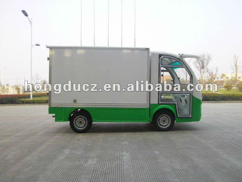 Green powered electric cargo van