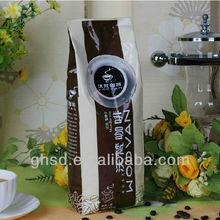 coffee gusset bag / heat seal side gusset coffee bag / coffee packing bag