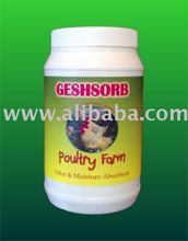 GESHSORB Poultry Farm Odor & Moisture Absorbent