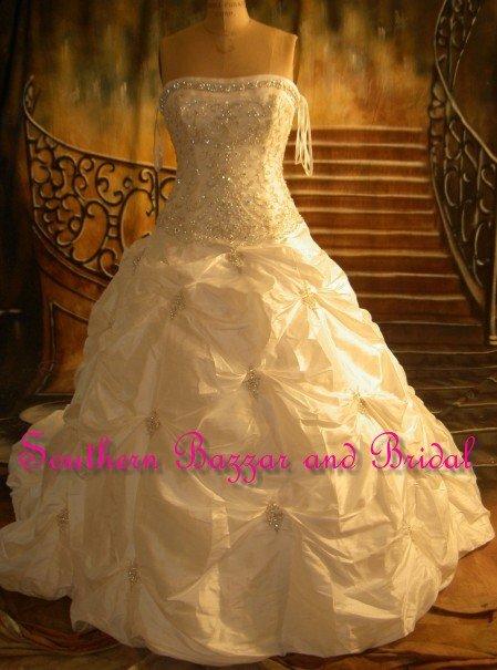 corset puffy wedding dresses