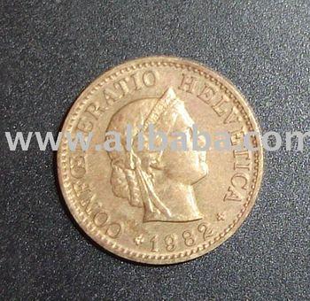 CONFOEDERATIO HELVETICA 5 COIN