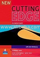 "The book ""New cutting edge"""