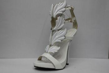 wholesale new stylist white leaf stiletto high heel shoes,designer shoes women 2013,famous branded shoes