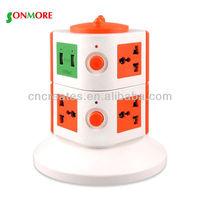 8 pin plug and socket/universal multi plug sockets/multi plug socket 220v