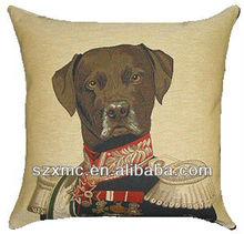 Labrador dog animal design printed home decor sofa seat tapestry cushion