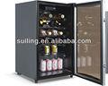 125l électrique refroidisseur de bouteille de vin