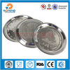 2013 polished stainless steel fruit plate decoration, metal decorative plate