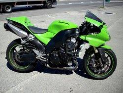 Kawasaki MOTORCYCLE WITH DAMAGED