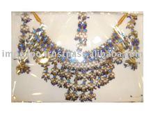Ladies Fashion Necklace (Bridal Set) Antique Set: Item No. IMPEXPONECKLACE112b