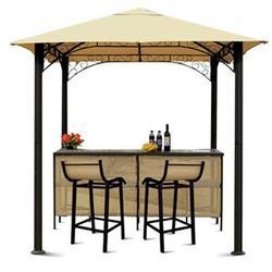 Outdoor Weather Patio Furniture Tiki Bar Gazebo Stools