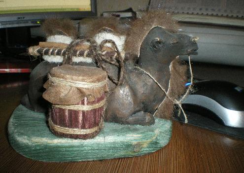 монгольские сувениры: