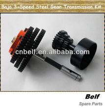 Baja 3-speed conversion steel gear transmission Kit for hpi/rovan/gtb etc