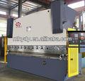 Wc67y de acero al carbono/de aluminio/de aceroinoxidable de la máquina de flexión del metal de hoja de freno de la prensa del brazo del oscilación