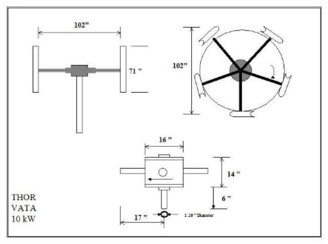 Vertical Wind Turbine Design Plans Vertical Axis Wind Turbine