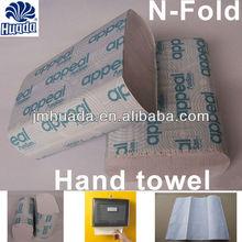 N-fold 1 Ply 100 Sheets Disposable Bathroom Hand Towel