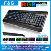 luxeed LED keyboard with big letters, CE/FCC/ROHS