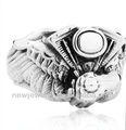 zhui hao de fantasía anillo de acero inoxidable harley anillos de acero inoxidable