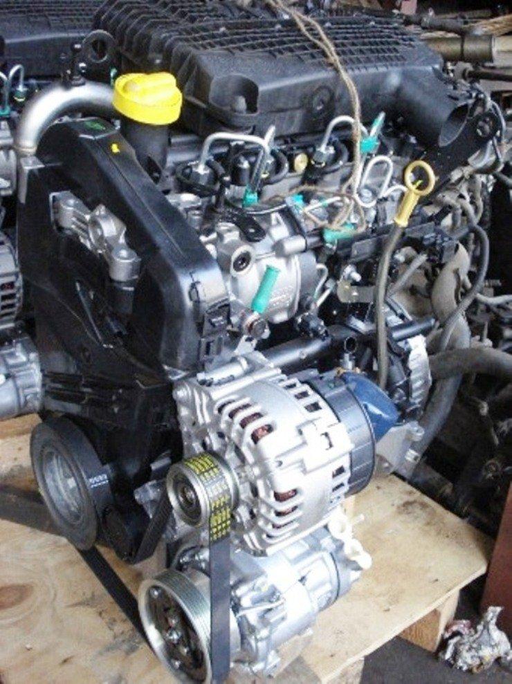 motor de Renault Logan