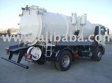 vacuum tank tanker truck