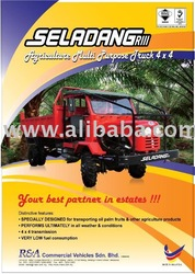 Seladang RIII, Agriculture Multi Purpose Truck 4x4 (New)
