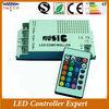 CE&Rohs DC12V IR remote sound controller strobe led guangdong 12v
