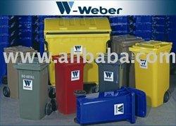 litter bins - wheelie bins